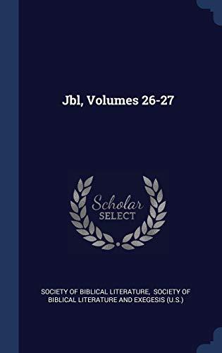 Jbl, Volumes 26-27