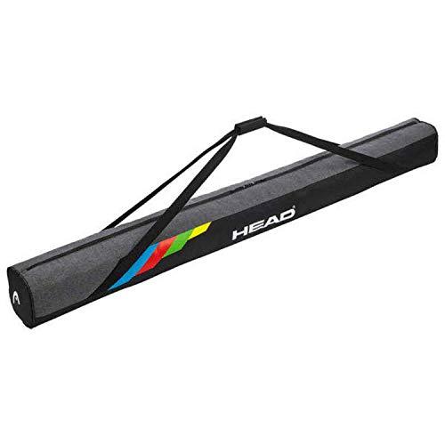 Head–Esquí Unisex Bag Supershape, Black/Grey, One Size