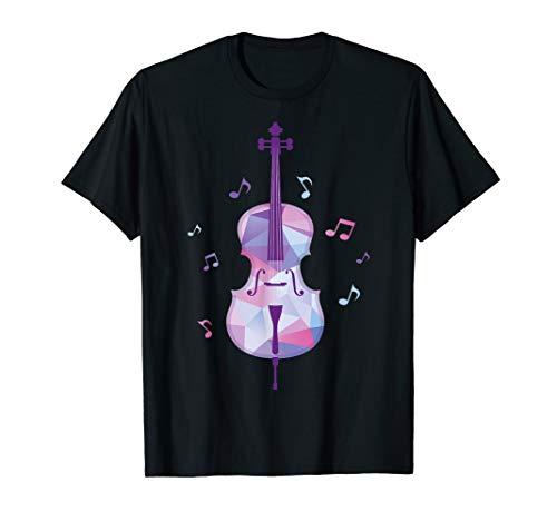Violine & Geige Musik Noten Geschenk Musiker T-Shirt