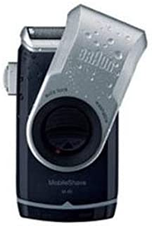 【まとめ 4セット】 ブラウン シェーバー(乾電池式) Braun Mobile Shave M90シェーバー M-90