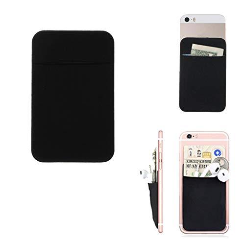 Cuigu - Soporte para tarjeta de identificación de crédito (negro)