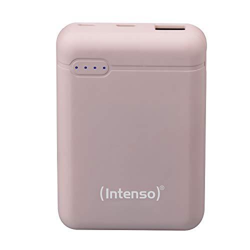 Intenso Powerbank XS 10000, externes Ladegerät (10000mAh, geeignet für Smartphone/Tablet PC/MP3 Player/Digitalkamera) Rosé
