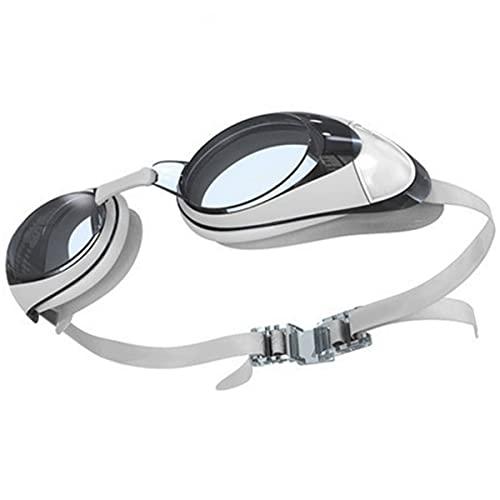 Anti-Niebla Gafas De Natación De Alta Definición Recubierto Blanco Myopia Natación Gafas Mujeres Adultos Impermeables Y Anti-Niebla