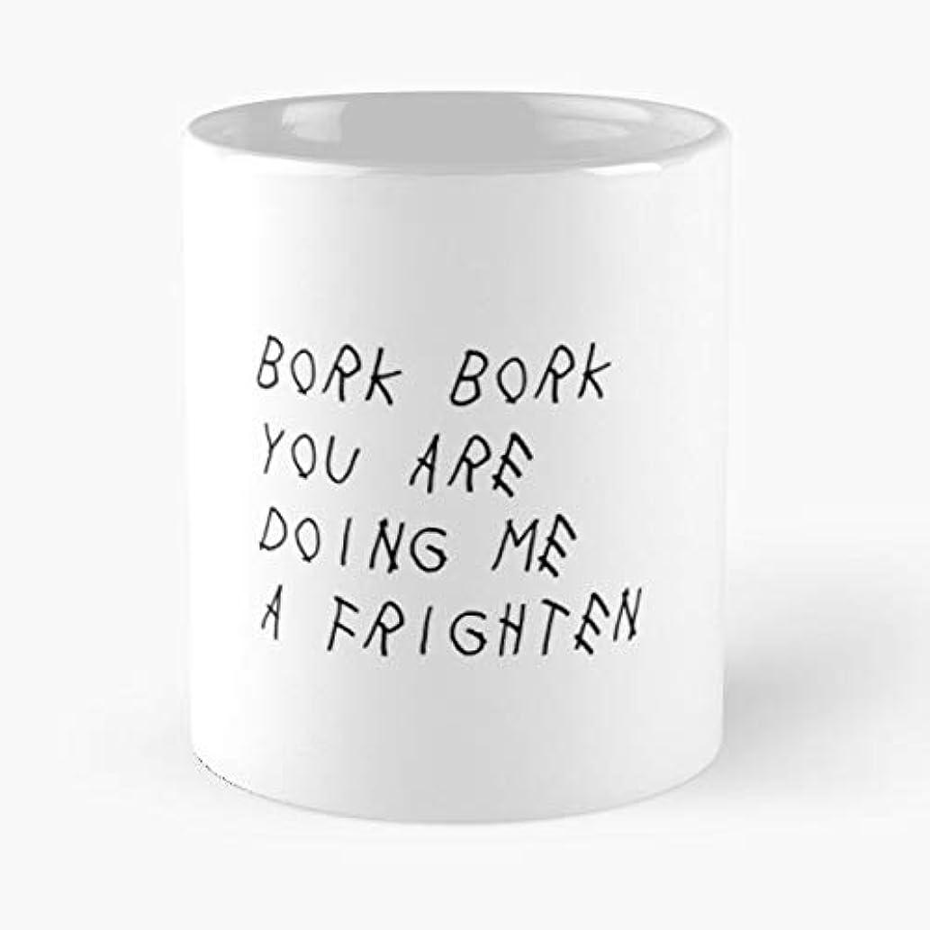 Memes Funny Doggo - Morning Coffee Mug Ceramic Best Gift