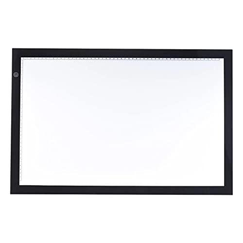DYecHenG Tablero de Copia LED Tablero De Copia De Caja De Luz A2 con Función De Memoria Control De Brillo Continuo para Visualización de Rayos X (Color : Black, Size : One Size)