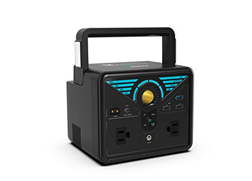 Renogy Phoenix 300 Portable Pure Sine Wave Power Station, 337Wh Solar Generator, Lithium Backup Power Supply with Quick Charge USB, Power Delivery Type-C, D-Tape, AC Outlet for CPAP Camping Camcorder
