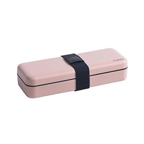 Nähset mit 21 Nähzubehör, Nähzeug mit Tragebox Hochwertigem aus PP Etui, Mini Haushalt Nähzeuge für Haus, Reise und Notfall,Anfänger, Reisende (Rosa)