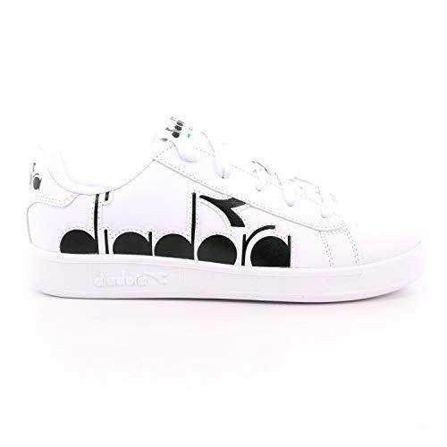scarpe pelle bambino Diadora Scarpe da Ginnastica Sneakers Bambini in Pelle Bianca 101-176274-01-C0351