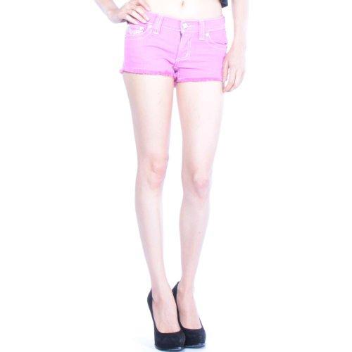 Affliction Women's Pink Vikki Iris Shorts