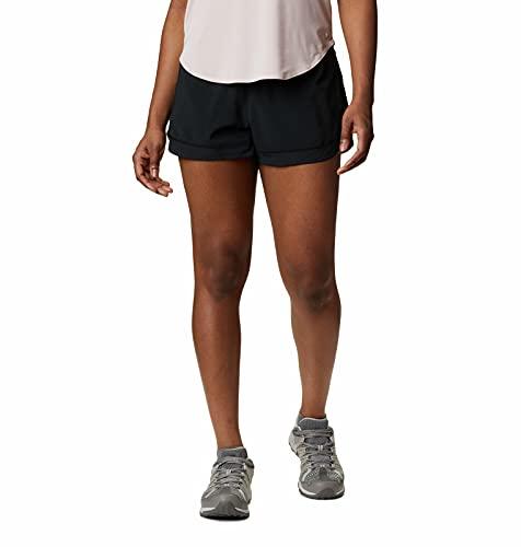Columbia Titan Ultra II Pantalón Corto, Poliéster, Mujer, Negro, Talla US: M/L3/ (EU M/L3)