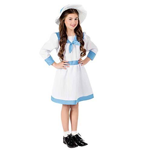 Fun Shack Kids Edwardian Costume Girls Historical Dress Story Book...