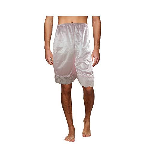 PTP05 Yellow Underworks Pettipants Nylon Half Slips Women Underpants Lingerie Lace Trimmed