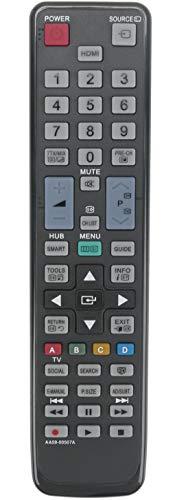 ALLIMITY AA59-00507A Fernbedienung Ersetzte für Samsung TV AA5900507A 4PS51E550D1K PS51E550D1M PS60E550D1K PS60E550D1M PS60E550D1W PS60E555D1K PS60E570D2S PS60E579D2S PS60E6500ES PS60E6500EU