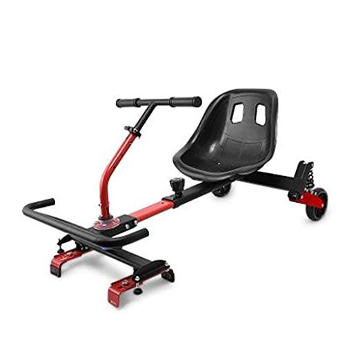 Clamps Go Kart - Asiento ajustable para scooters eléctricos de equilibrio automático, se adapta a todos los tamaños de tablas de 16,5 cm, 20,3 cm y 25,4 cm