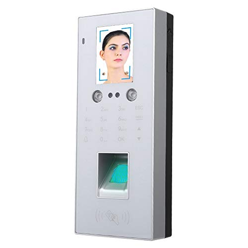 Xinwoer T9 Keyboard Face Attendance, 2,8 Zoll Zugriffskontrolle, IP-Farbbildschirm Voice Broadcast White für RFID-Anwendungen zur Mitarbeiterbeteiligung bei der Zugriffskontrolle