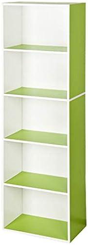 Bücherregal Massivholz Aufbewahrungsschrank Kinder Spielzeug Dekor Display Organizer Rack, H er Büro G en M l, 3 Farben