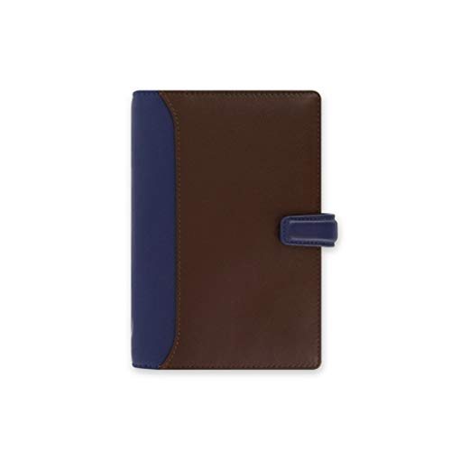 Notebooks A6 Binder Journal Book Leather Business Writing Notebook Refillable 6 Ring Planner Hardcover Diary Notebook Office & School Supplies (Color : BrownB)