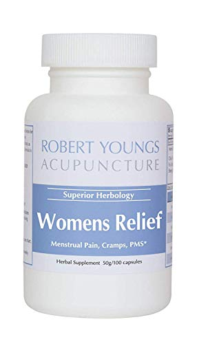 Women's Relief — Best Herbal PMS, Menstrual Pain & Period Cramping Reliever (100 Capsules) | Fast Acting Formula Helps Relieve Stress, Harmonize & Nourish Blood, Smooth Liver Qi & Break up Stagnation