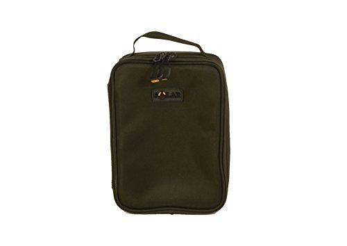 Solar Tackle Unisex's SP Hard Case Accessry Bag-Medium, Green