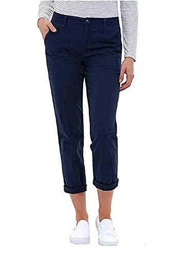 Jones New York Ladies' Chino Pant, (Variety) (10, Navy)