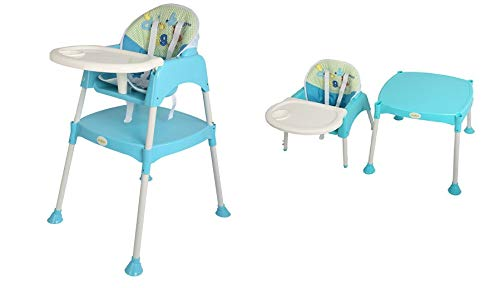 BAYBEE Little Miracle Beautiful The Convertible Baby High Chair for Kids, Feeding Chair Cum Study Table for Kids with Cushion,...