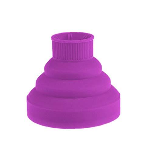 Accesorio plegable del ventilador difusor de la cubierta de silicona Secador de pelo plegable portátil de viaje plegable universal
