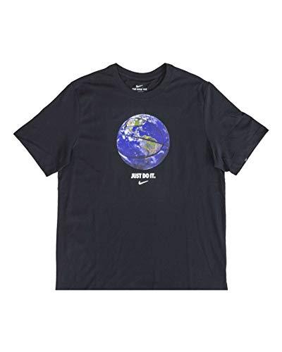 NIKE Camiseta Dry OC Photo para Hombre Negro M