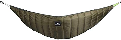 Hammocks, Hammock Under Blanket, Winter Sleeping Bag Under Quilt Ultralight Full Length Backpacking Underquilt with Compression sack Outing Camping XYXG (Color : As shown, Size : Free)