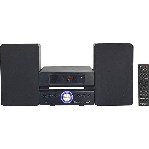 Silva Schneider SMP 450 BT Stereoanlage CD, USB, Schwarz