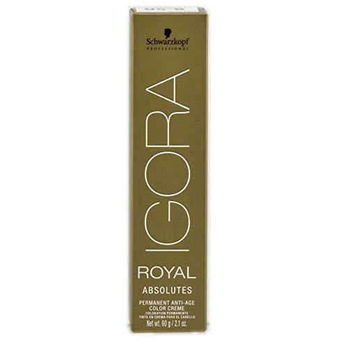 Schwarzkopf IGORA ROYAL ABSOLUTES Permanent Anti-Age Color Creme (9-10 Extra Light Blonde Cendre Natural)