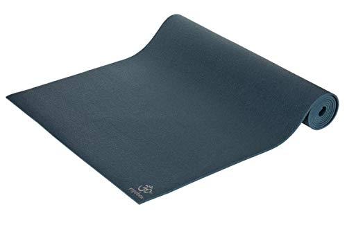 Yogamatte Premium 183 x 60 x 0,3 cm Made in Germany, blau