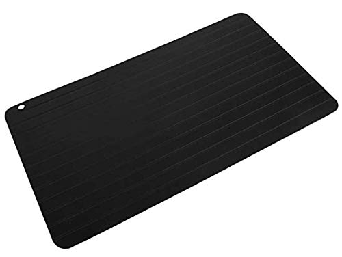 Original Meat Defrosting Tray - Rapid Defrost Plate for Food - Natural Miracle Thawing Mat - Fast Thaw Board - Large Size - Master Meat Defroster Tray - No Microwave/Electricity