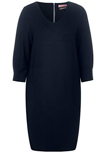 Street One Damen 142586 Kleid, Deep Blue, 36