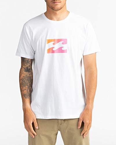 BILLABONG Team Wave - Camiseta para Hombre Camiseta, Hombre, White, XL