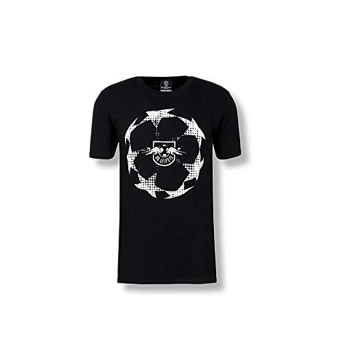 Rb Leipzig Champions League Stage T Shirt Black M Amazon Co Uk Clothing