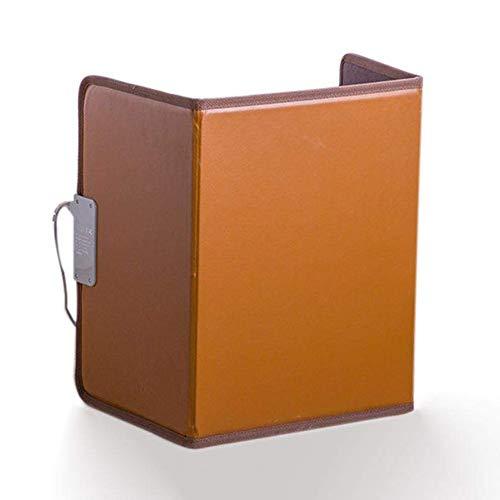 CMmin Voetverwarmingsmat, 150 watt, 3 warmtestanden, 100 x 51 cm, laag stroomverbruik, plug-in elektrische verwarming, mooi design