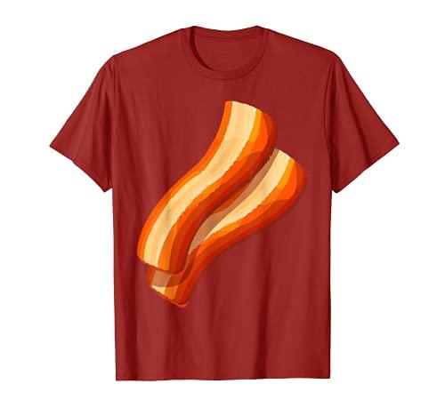 Disfraz de hamburguesa de tocino a juego con hamburgu Camiseta