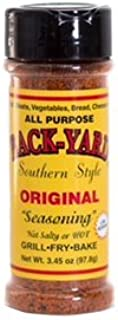 #1 All Purpose Seasoning | BACK-YARD Southern Style Original - 3.45 ounce | Makes Mouth-Watering Food | The Perfect Steak Seasoning, Poultry Seasoning, Fish Seasoning, Vegetable Seasoning | Low Sodium