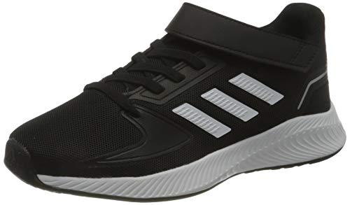 adidas RUNFALCON 2.0 C, Zapatillas de Running, NEGBÁS/FTWBLA/Plamet, 28.5 EU