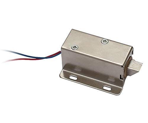 Zugmagnet 12V Elektromagnet Türöffner Magnetverriegelung Hubmagnet Riegel