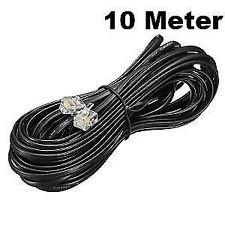 Ann-Tech, Telephone Modem Line Cord Cable, RJ11 Plug to Plug 10 Meter