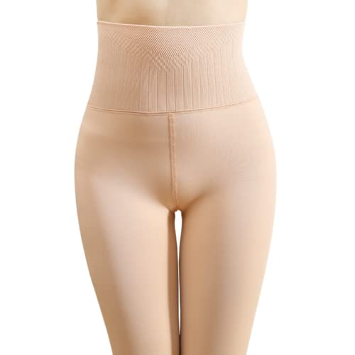 WYMC Pantalon Deporte Leggings Mujer para EláSticos y Transpirables para Running Training Fitness Estiramiento Yoga, Talla única,Flesh Step Foot Pants,300g