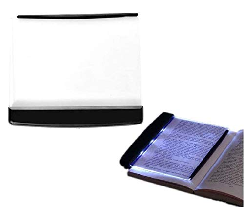 Bookglow - Reading Light,creative flat plate led book light reading night,Lightwedge Book Light,LED Reading Bright Light Lamp Board, Home Studying Reading Accessory
