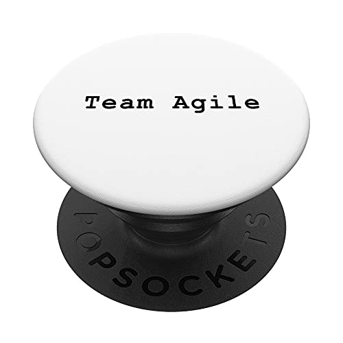 Agile Team Members Scrum Project Management Funny PM Coach PopSockets PopGrip Intercambiable