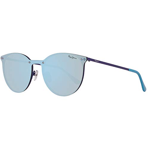 Pepe Jeans PJ5134C4137 Sonnenbrille PJ5134 C4 130 Finna Rund Sonnenbrille 137, Blau