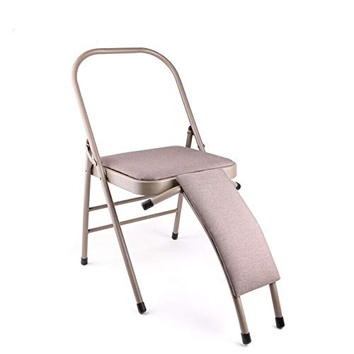 Great Features Of TAESOUW-Sports Yoga Chair Folding Meditation Benches Bold Widening Yoga Stool Chai...