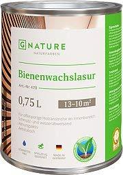 GNature Bienenwachslasur weiss 0,75 L