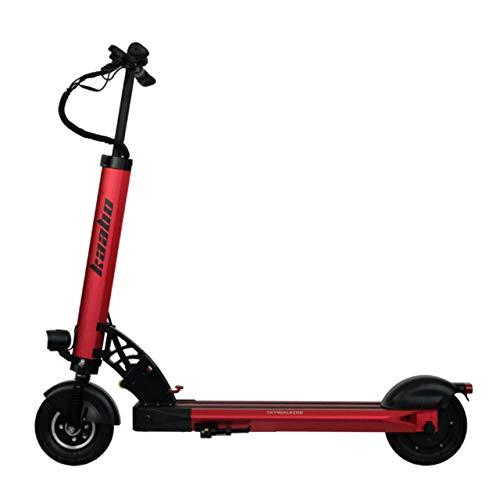 Patinete Eléctrico para Adultos - Scooter Eléctrico - Electric Scooter - Patinete Eléctrico 25 Km/h - Patines Eléctricos Adultos - kaabo Skywalker 8 - Motor 350 Vatios - Versión 10,4Ah - Rojo
