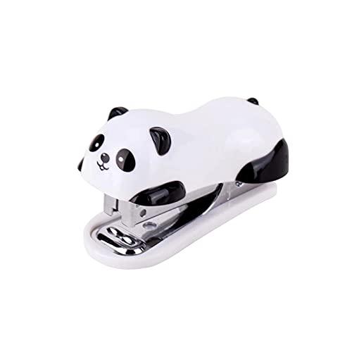 Útil Grapador Animales lindos Stapler Set Stick Office Supply Supply Premio del estudiante Regalo de cumpleaños Fácil de usar (Color: Blanco, Tamaño: Un tamaño) ( Color : White , Size : One Size )