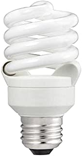 Philips 414045 60 Watt Equivalent Compact Fluorescent Twister Natural Light 5000K CFL Light Bulb, 6-Pack